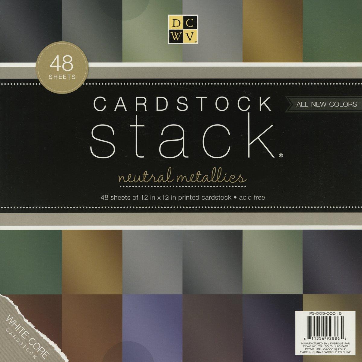 Cardstock Stack 12