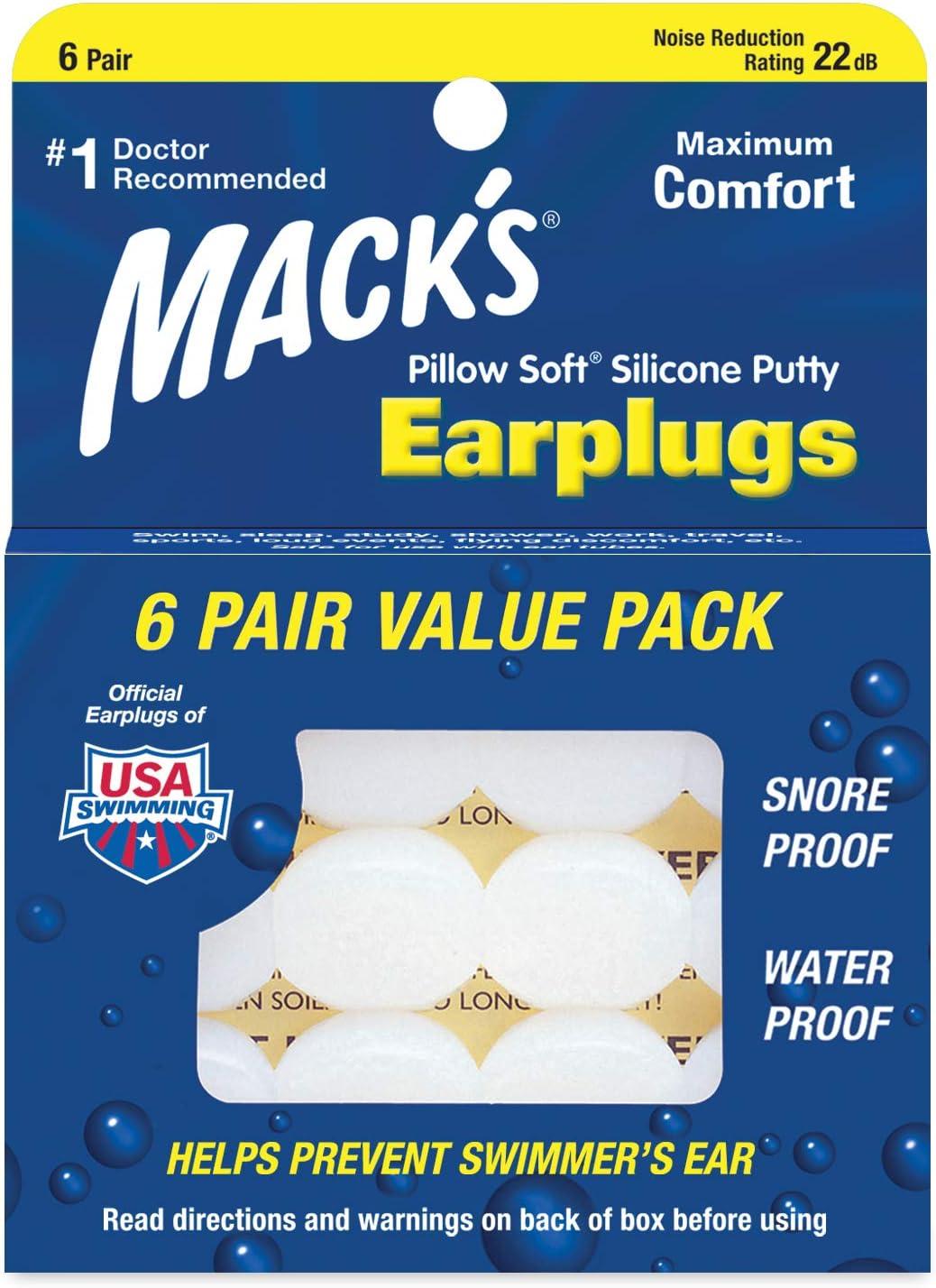 Great Swimming Ear Plugs