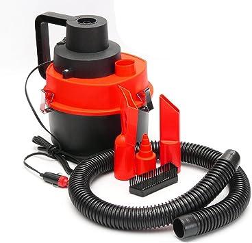 Viviance ZHVICKY Aspirador de vacío seco y húmedo de 12V Aspirador portátil para Autocaravana Tienda Bomba de Aire Inflador Turbo: Amazon.es: Coche y moto