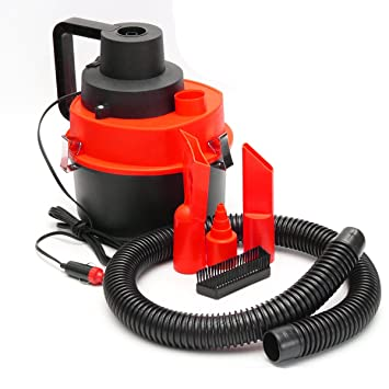 12V Wet Dry Vac Vacuum Cleaner Portable Car Caravan Shop Air Pump Inflator Turbo: Amazon.es: Electrónica