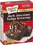 Duncan Hines Brownie Mix, Dark Chocolate Fudge, 18.2 Ounce