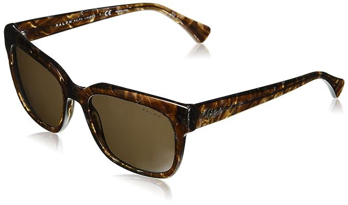 Ralph 0RA5240, Gafas de Sol para Mujer, Shiny Havana Glitter ...