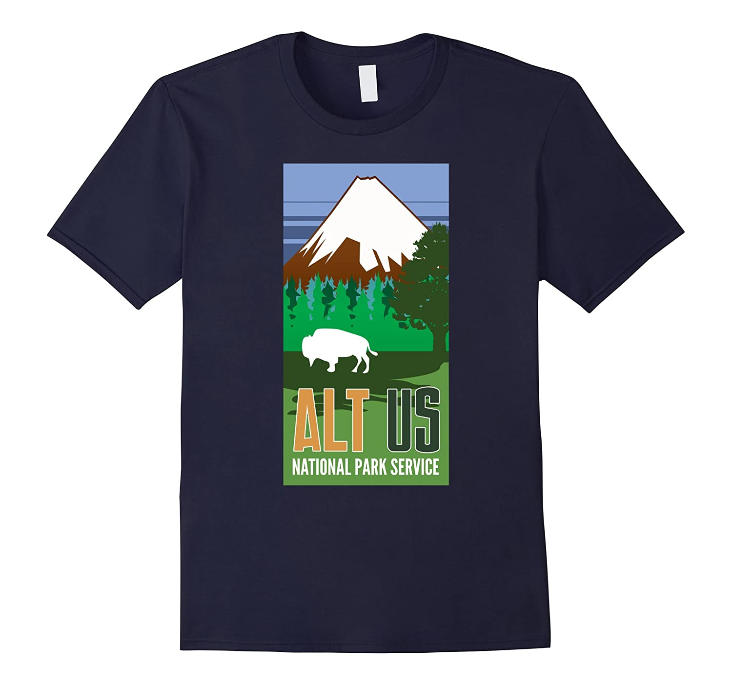 ALT US National Park Service Resist Shirt-TH