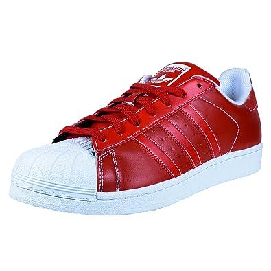 Adidas Superstar Men's Shoes Scarlet RedWhite d69299 (13 D