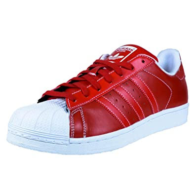 los angeles d831b 0269a adidas Superstar Men s Shoes Scarlet Red White d69299 (11 D(M) US