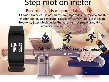 Cebbay Reloj Inteligente F1 Bluetooth 4.0 Fitness podómetro Deportivo para Correr Reloj de Hombre Reloj electronico Reloj led: Amazon.es: Electrónica