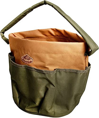 Esschert Design Canvas Round Tool Bag