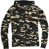 """100% Speedlab (36023-064-12)""""Interval Zip Hooded Sweatshirt Camo - Large,"""