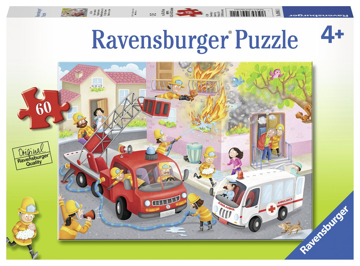 Ravensburger 09641 Firefighter Rescue! Jigsaw Puzzles