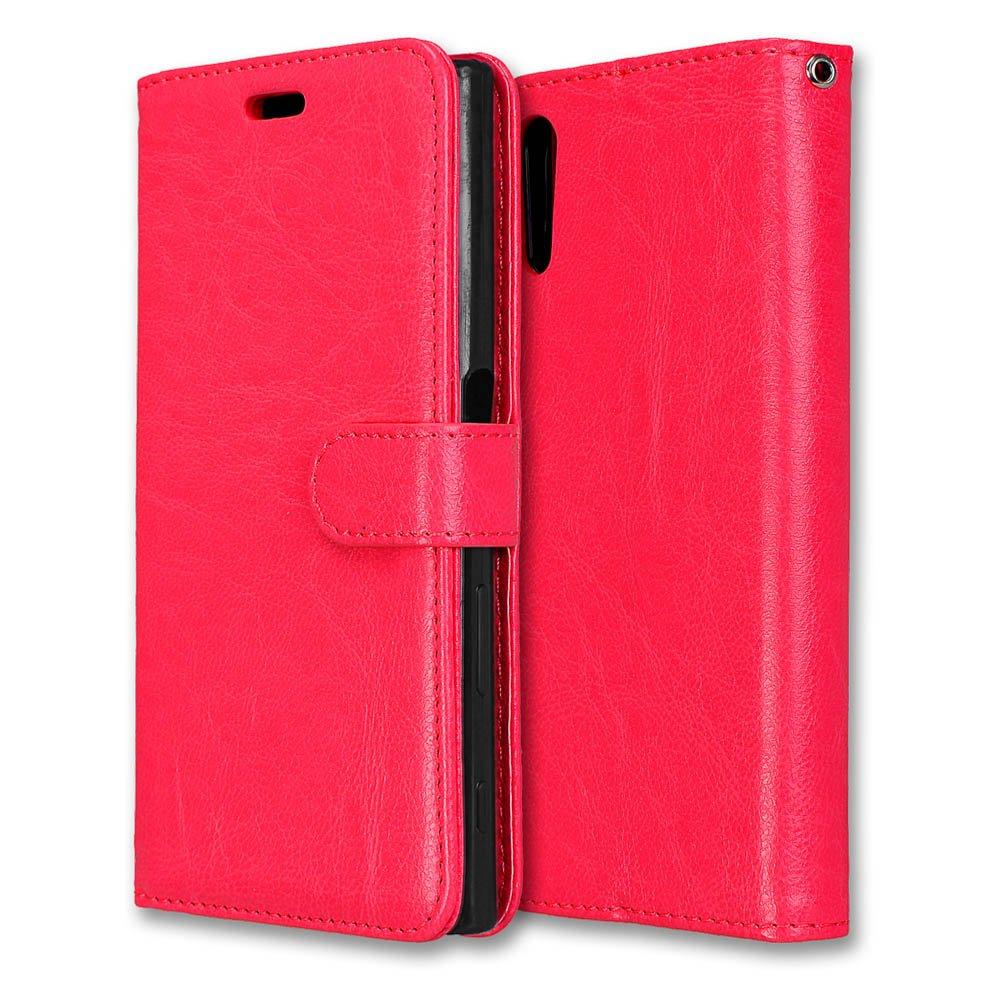 Laybomo Coque Sony Xperia XZ / F8331 F8331 F8332 Etui Housse PU Cuir Pochette Portefeuille Coque Aimant Protecteur Doux tpu Cover [Cadre Photo] Housse Coque Etui pour Sony Xperia XZ (Noir) lbm-cs1579