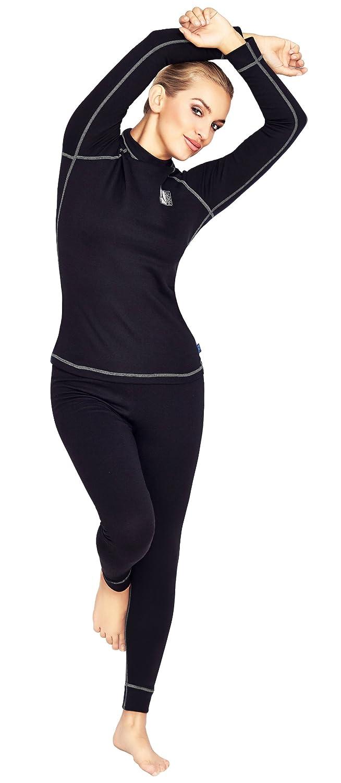 Hisert Women's Thermal Underwear Set