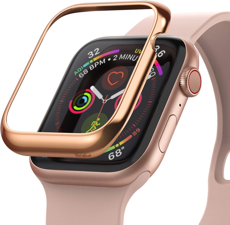 Ringke Bezel Styling Diseñado para Funda Apple Watch Series 6 40mm (2020), Carcasa Apple Watch SE 40mm, Funda Acero Inoxidable para Apple Watch 40mm Series 6 / SE / 5/4 - AW4-02