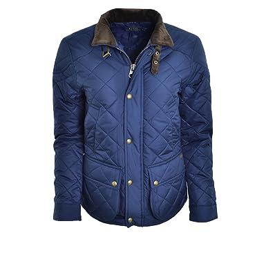 31b7a721888360 RALPH LAUREN - Veste cavalière bleu Marine Cadwell Pour Femme - Bleu  Marine, S