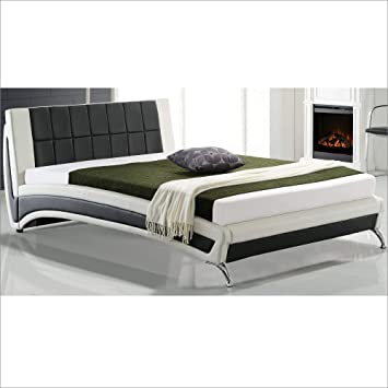 Cherry Tree Furniture LEPUS Modern PU Leather Upholstered Bed Frame ...
