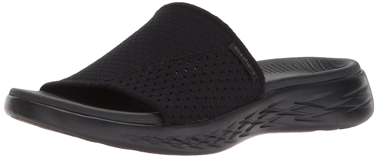 Skechers Performance Damens's On The Go 600 Slide Nitto Slide 600 Sandale,schwarz 20793b