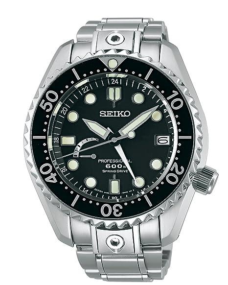 Seiko para Hombre Prospex Marinemaster Primavera Drive Profesional Buceo Reloj, sbdb011: Amazon.es: Relojes