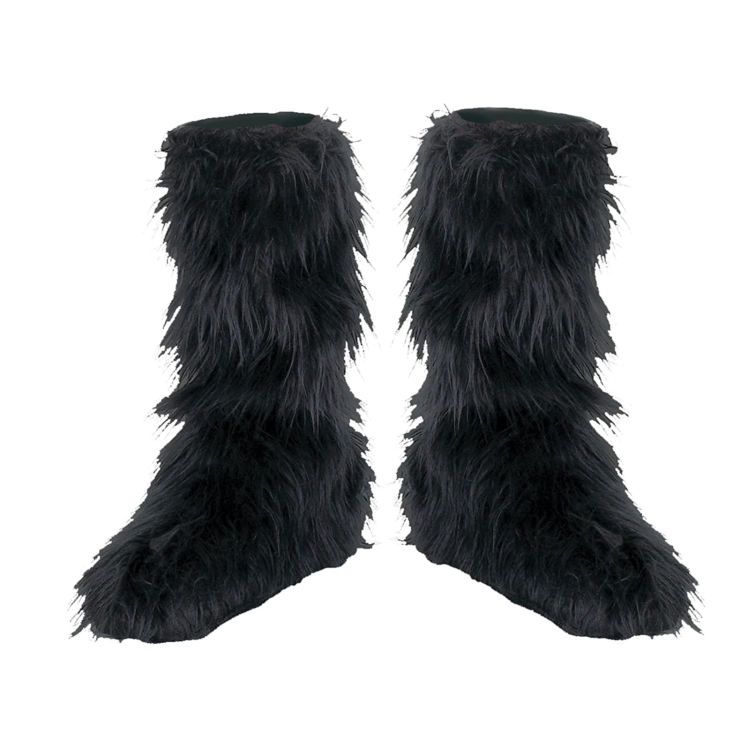 Disguise Inc 20007 Black Furry Boot Covers Child
