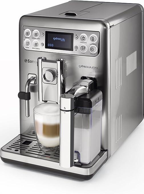 Saeco Exprelia Evo HD8858/01 - Máquina de café espresso automática con jarra de leche: Amazon.es: Hogar