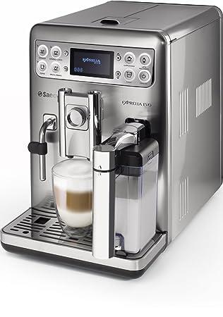 Saeco HD8858/01 HD8858/01-Cafetera Espresso súper automática Exprelia EVO, 15bar