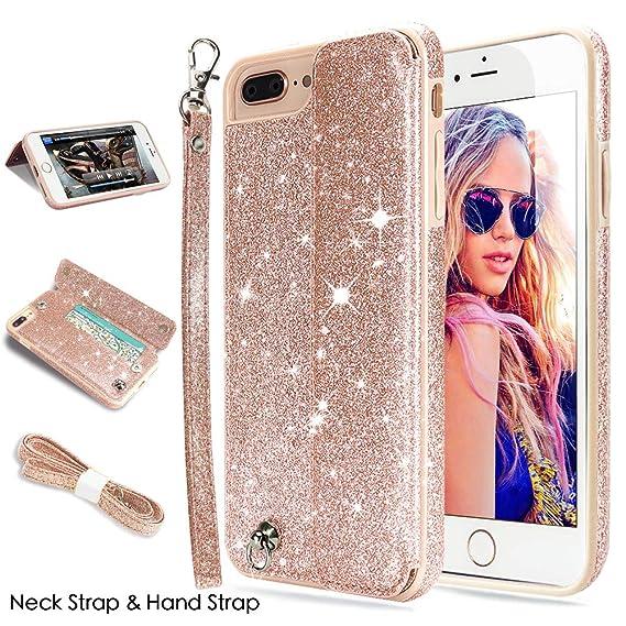 glitter flip case iphone 8 plus