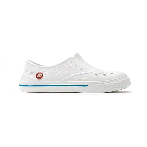 Femme Blancamp; Hopital De Schu'zz Travail Infirmière Chaussure Sneaker'zz Bleu Yf7b6gy