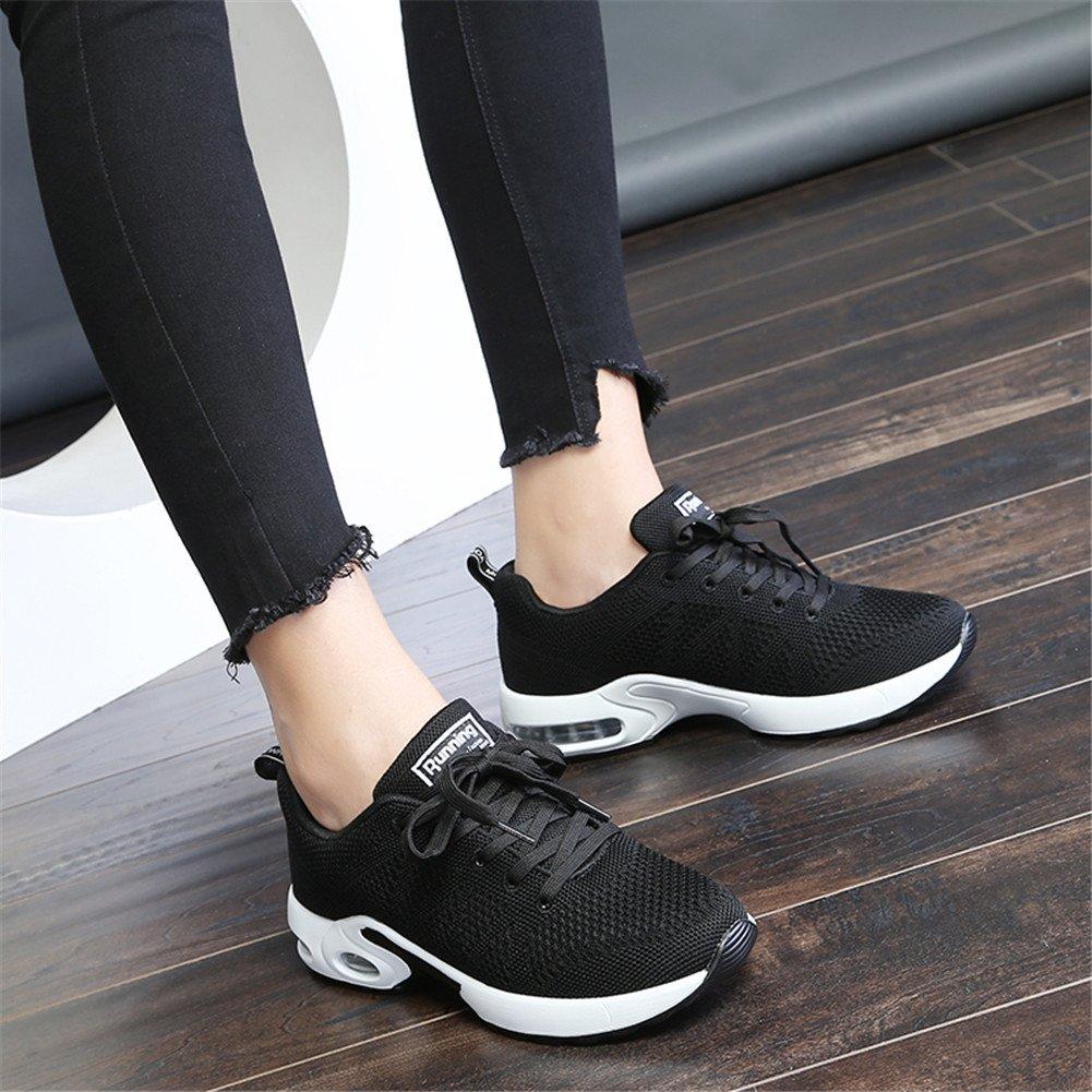 MIMIYAYA Femme Homme Air Baskets Chaussure de Running Sport Baskets de Sports Gym Fitness Course Sneakers 34-44 EU