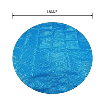 Amazon.com: Fragil Tox Pool Cover 6ft/7ft Round/Square Swimming Pool ...
