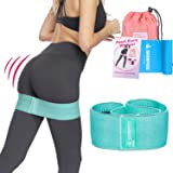 Hip Resistance booty bands set Thick Fabric Bands for Work Out
