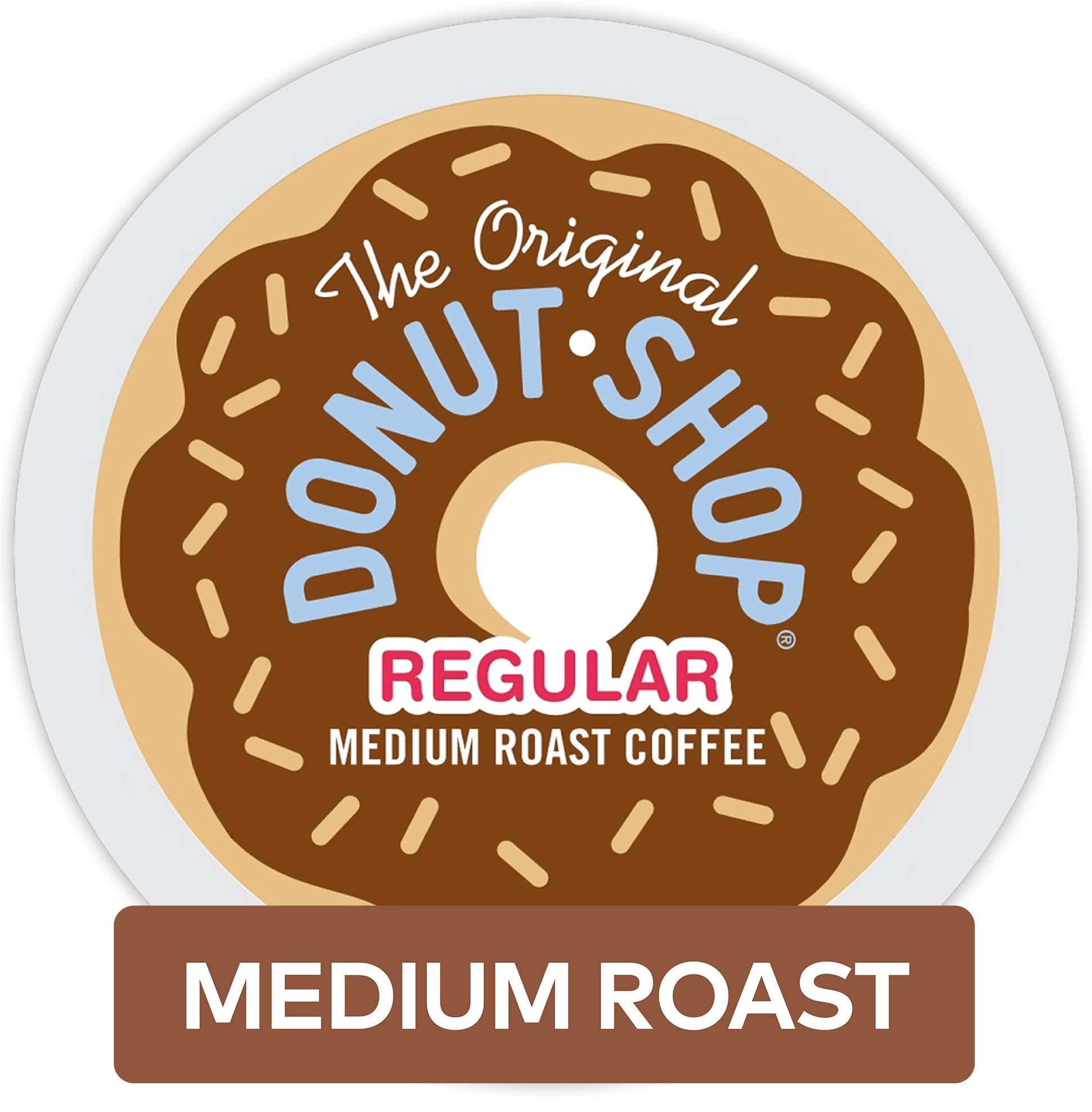 The Original Donut Shop Keurig Single-Serve K-Cup Pods, Regular Medium Roast Coffee, 72 Count by The Original Donut Shop