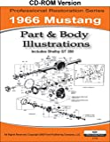 1966 Mustang Part and Body Illustrations