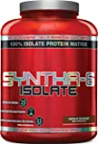BSN SYNTHA-6 ISOLATE Protein Powder, Whey Protein Isolate, Milk Protein Isolate, Flavor:  Chocolate Milkshake, 48 servings