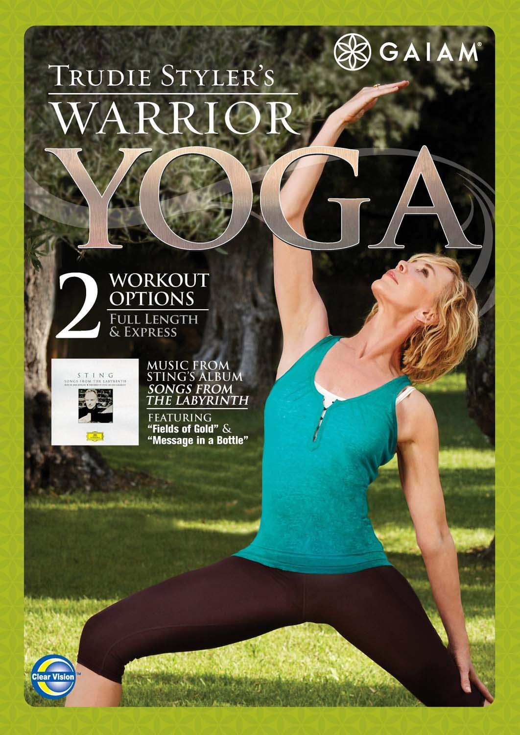 Amazon.com: Trudie Stylers Warrior Yoga [DVD] (2009 ...