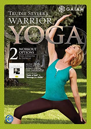 Gaiam - Trudie Stylers Warrior Yoga Reino Unido DVD: Amazon ...