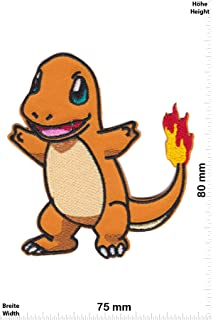 Patch Pikachu Cartoon zum aufb/ügeln Pok/émon Aufn/äher Apple Pikachu Iron On