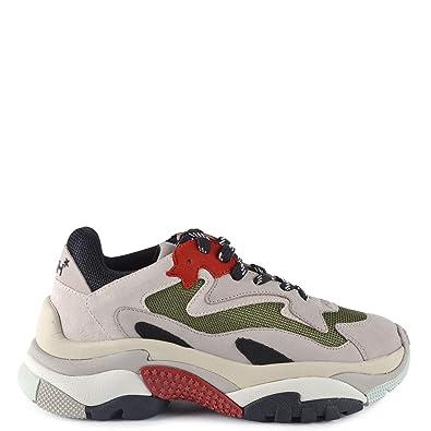 8acc5761e7f Ash Footwear Chaussures Addict Baskets Gris Et Rouge Femme  Amazon ...