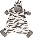 Suki Baby Zooma Soft Boa Plush Baby's Blankie with Embroidered Accents (Zebra)