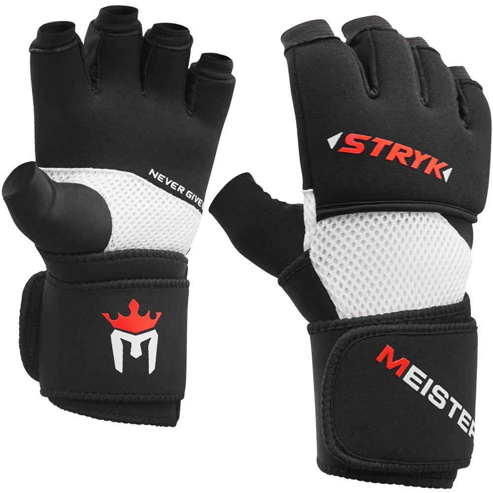 MMA Meister - Reemplaza las envolturas de mano o para entrenamiento Guantes interiores de Stryk con EliteGel para boxeo y artes marciales