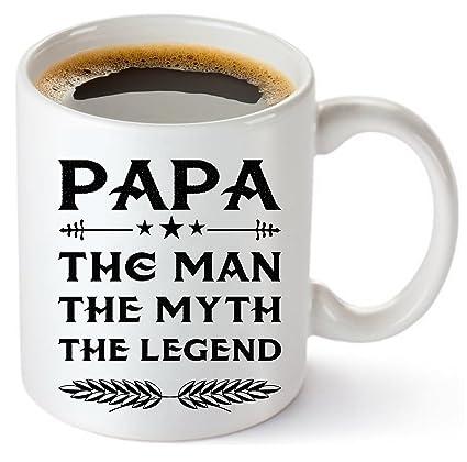 muggies papa mug gift for dad and grandpa coffee tea 11oz cup unique - Man Gifts For Christmas