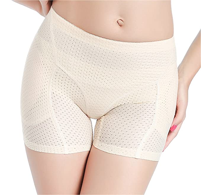25ceec47072 Butt Lifter Hip Enhancer Control Panty Padded Boy Shorts Women s Seamless  Body Shpaer  Amazon.ca  Clothing   Accessories