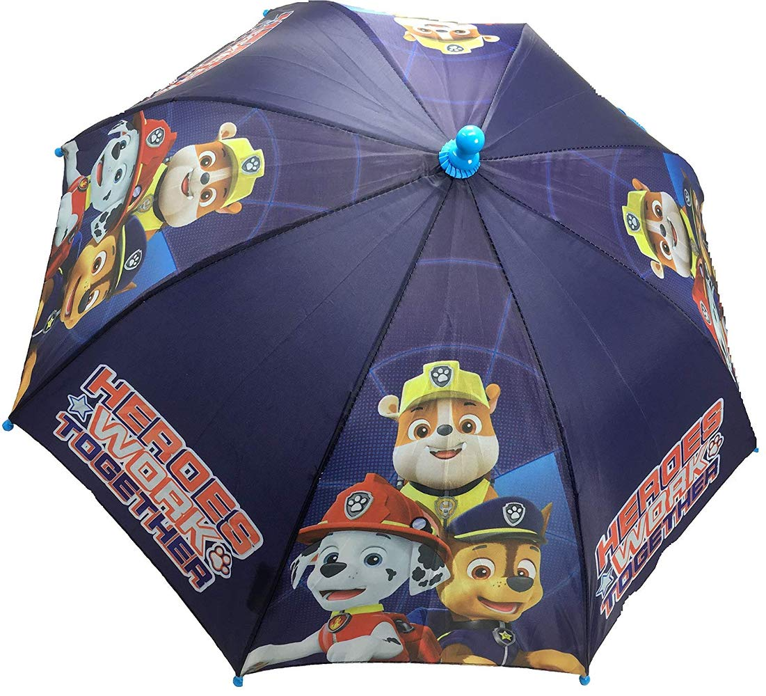 Nickelodeon Little Boys Paw Patrol Super Heroes Work Together Character Umbrella, Age 3-7   B07GSJT8B5