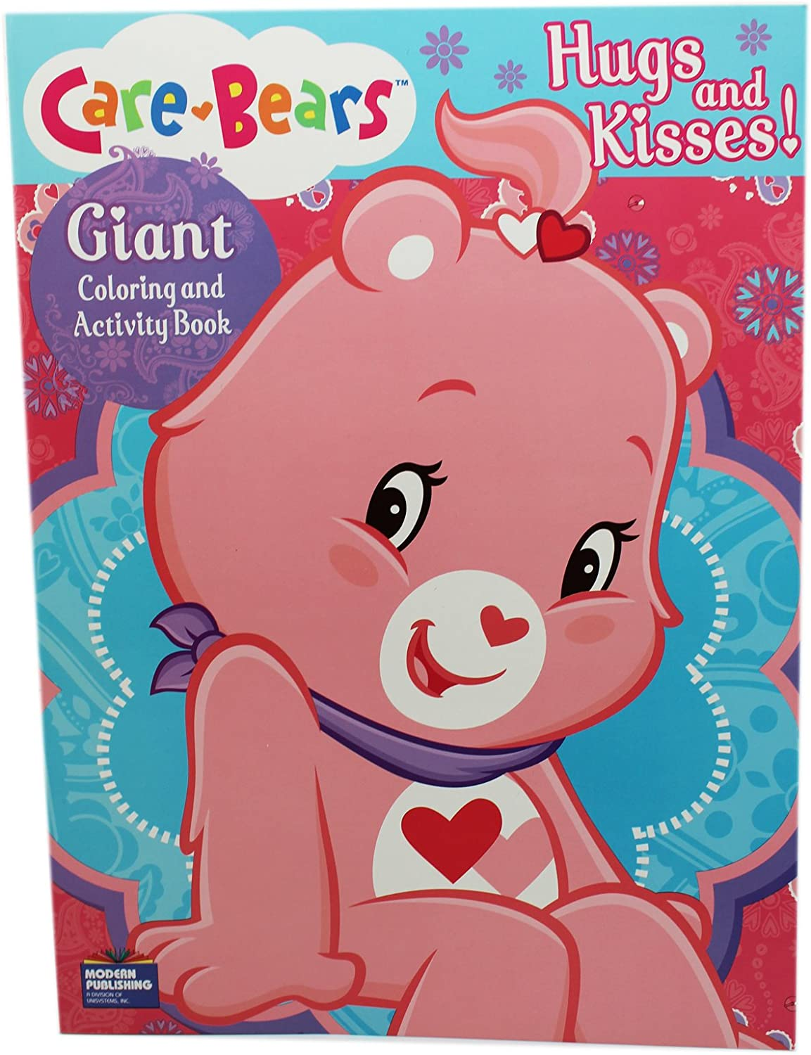 Amazon.com: Blue Hugs And Kisses Care Bears Coloring And Activity