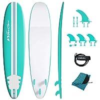 Deals on Wavestorm 15th Anniversary Edition Soft Top Foam 8ft Surfboard