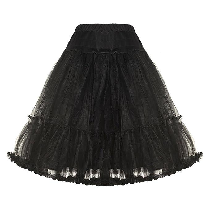 Banned - Falda - para mujer multicolor negro 46: Amazon.es: Ropa y ...
