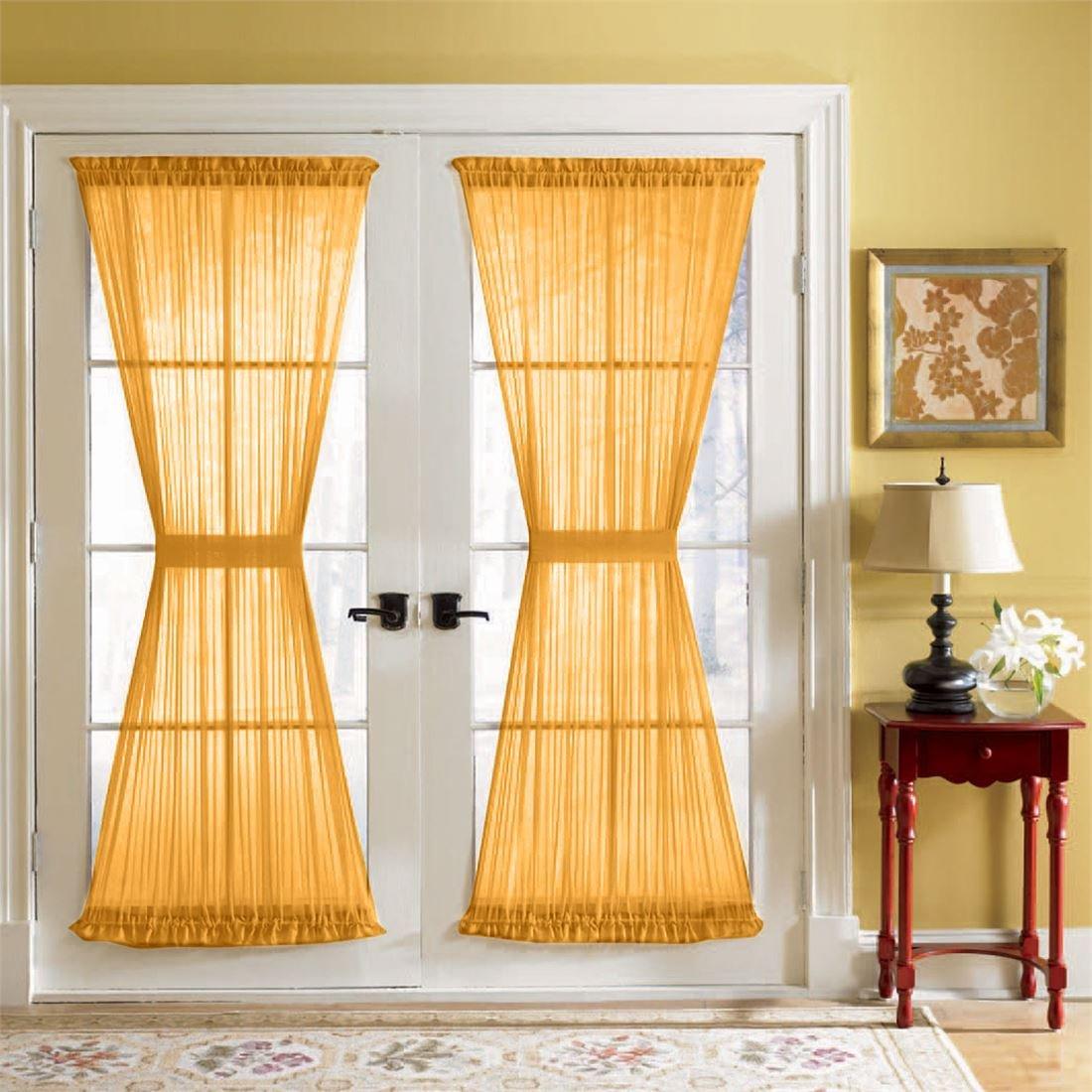 Duck River Rivietta Floral Linen 3 Piece Kitchen Curtain: Window Treatment Sets : Online Shopping For Clothing