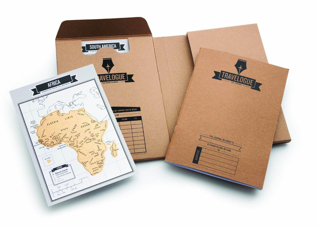 Luckies of London Travel Journal, Personalised Scratch Off Map Pages, World Map diary with country, city and states detail, Travelogue Original