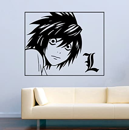 Amazon.com: Anime Vinyl Wall Decal Death Note L Hentai Vinyl ...