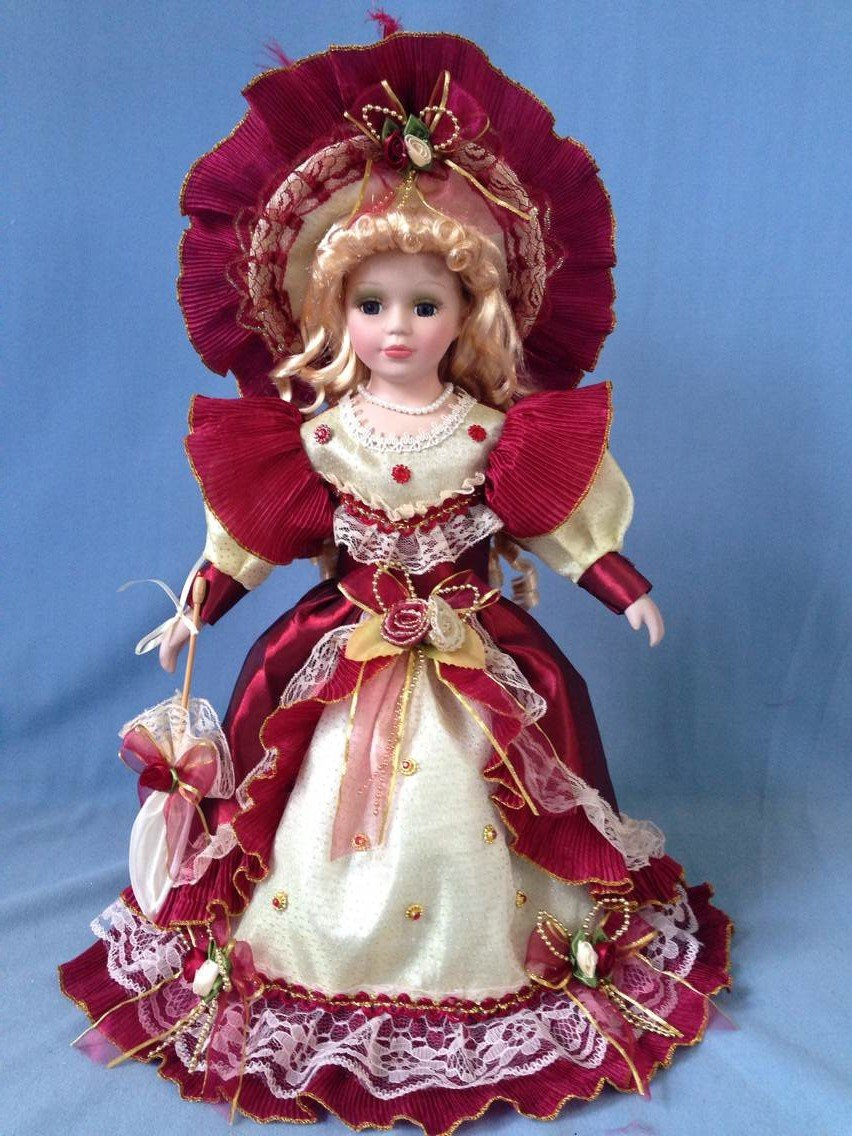 "Jmisa 16"" Victoria de porcelana muñeca"