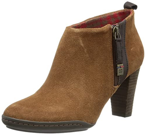Tommy Hilfiger Nicole 3 B, Botines para Mujer, marrón-Braun (Cognac 606), 41 EU: Amazon.es: Zapatos y complementos