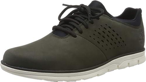 Plain Timberland OxfordSneakers Basses Toe Bradstreet Homme 4L53ARjq
