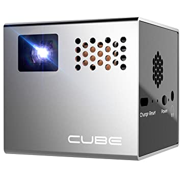 CUBE 10 RF00040 Mobile Projector with LED: Amazon.in: Electronics